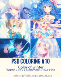 PSD Coloring #10