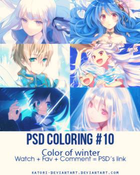 PSD Coloring #10 by Katori-Rinfu