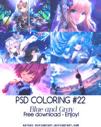 PSD Coloring #22