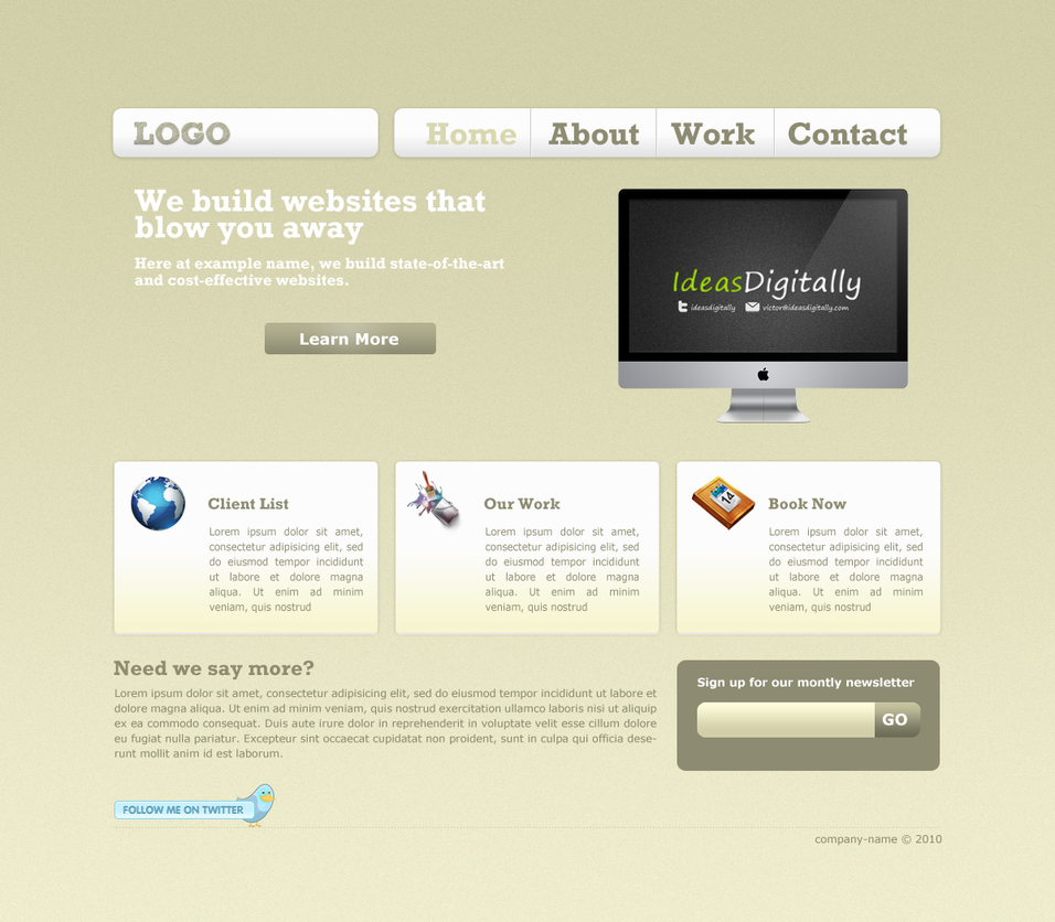Clean Web 2.0 by Gr4Dm4n