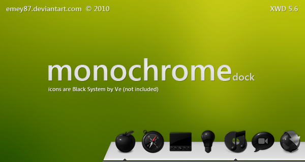 Monochrome dock by emey87