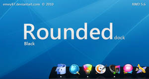 Rounded Black
