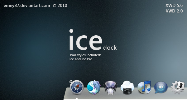 Ice dock for XWD 5.6 and 2.0
