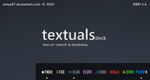 textuals dock