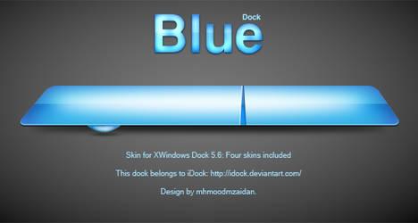 Blue dock by iDock project by emey87