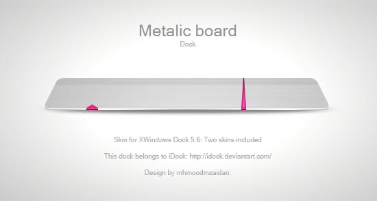 Metallic Board by iDock by emey87