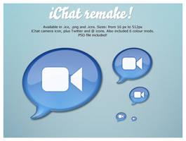 iChat Remake by emey87