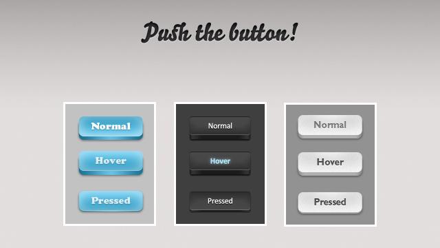 Push the button PSD