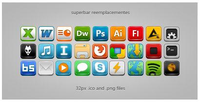 Superbar reemplacements