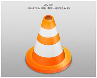 VLC icon by emey87