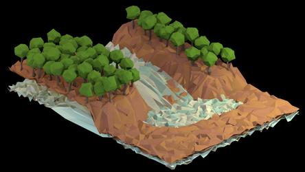 Waterfall by BenWurth