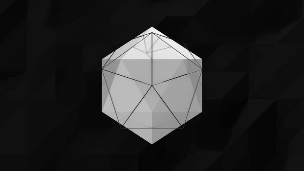 Low Poly Abstract Animated Gif Thing