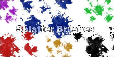 Splatter Brushes by Insanity-Prevails