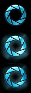 Aperture Science Start Orb by Bevier