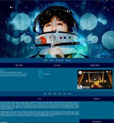 Blogger Layout: Lee Hong Ki - Space