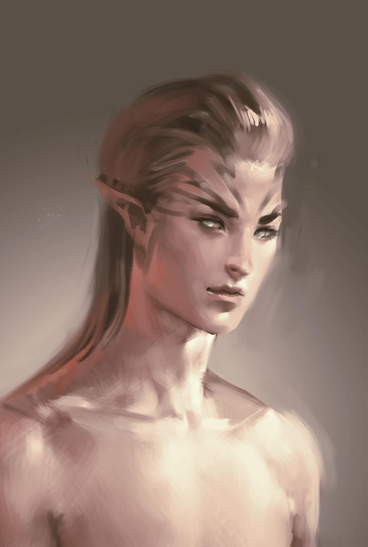 Commission: Elandil by Dragonprincess831