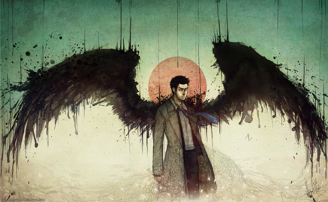 Castiel x demon!reader ~ Songfic ~ Counting stars by
