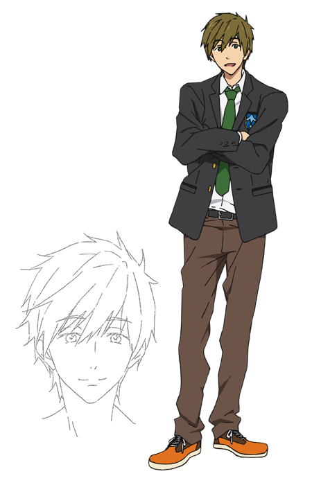 6 Foot Tall Anime Characters : Makoto tachibana reader see you later by