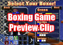 Game Preview- New Char Select