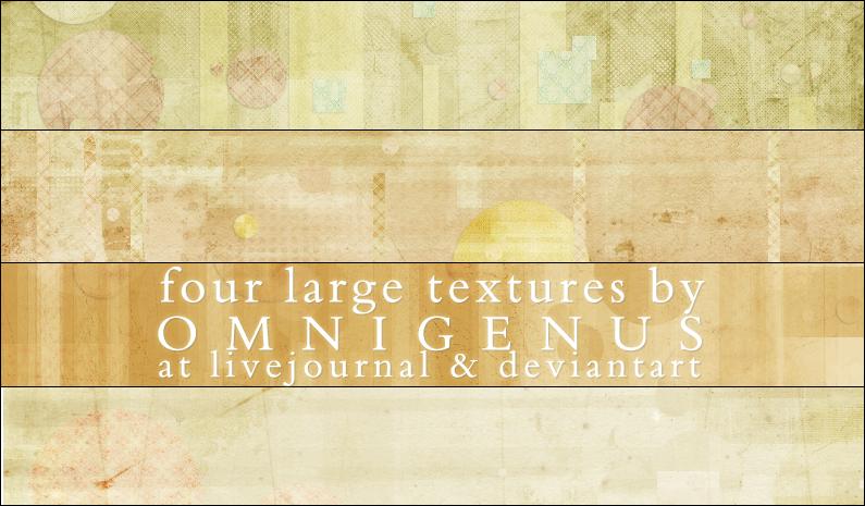 04 Large Textures by omnigenus