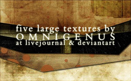 05 Large Paper Grunge Textures by omnigenus