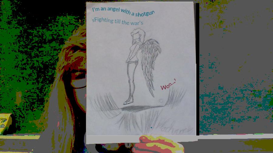 Warrior Angel by Pikachuwolf18