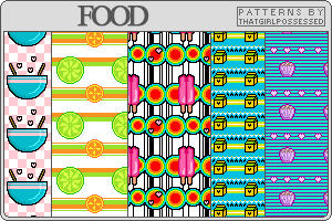 Food - Pattern Set by trishajessica