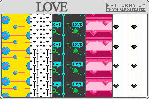 Love - Pattern Set by trishajessica
