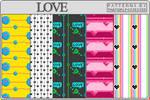 Love - Pattern Set