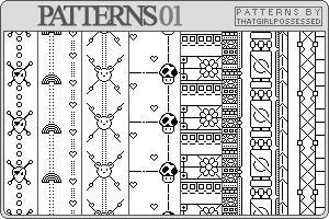 Patterns 01 - Pattern Set by trishajessica