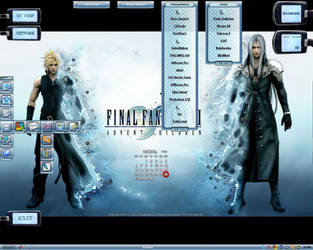 FF Advent children by krishna-withe