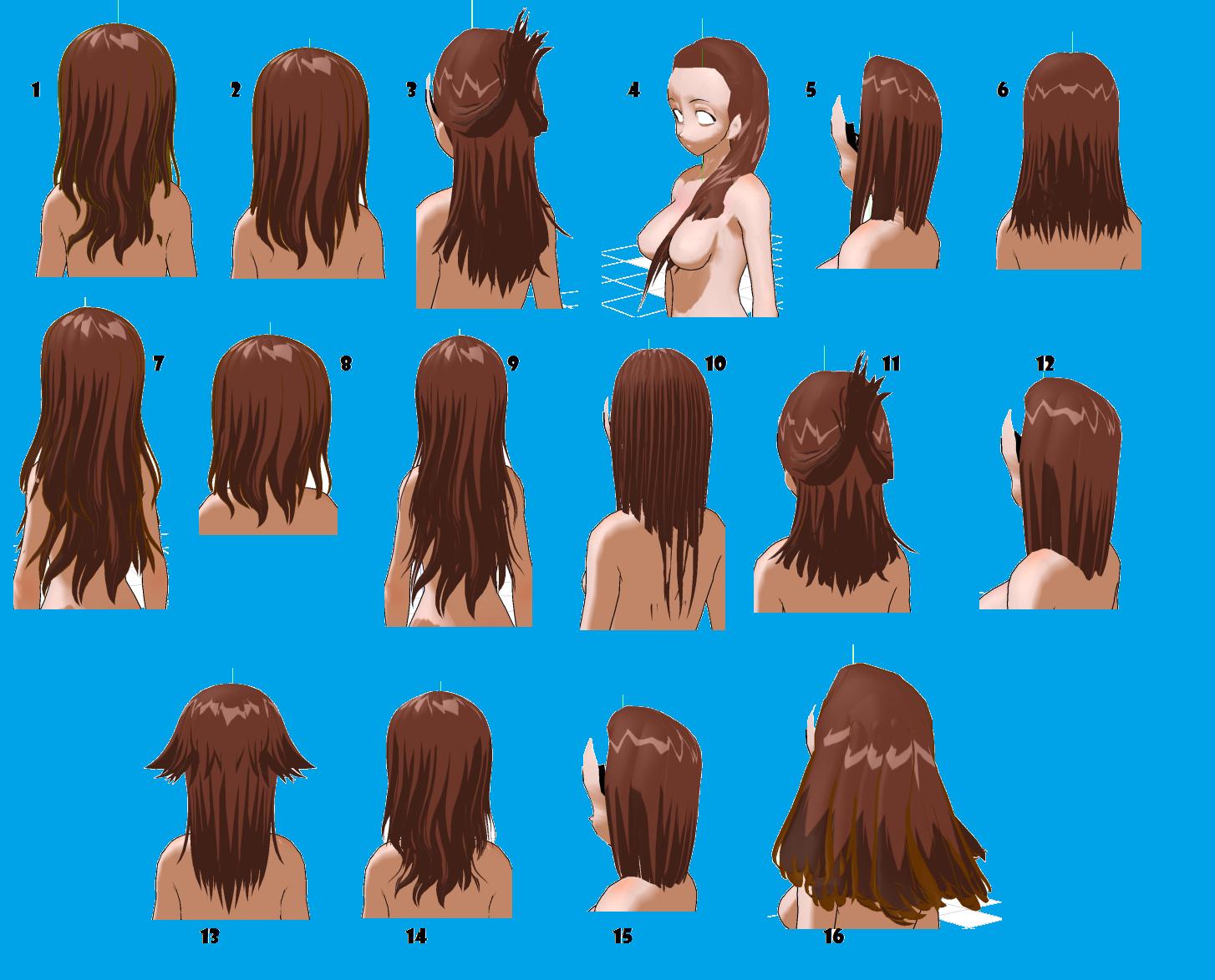 Medium Length Hair Styles By Mmdxdespair On Deviantart