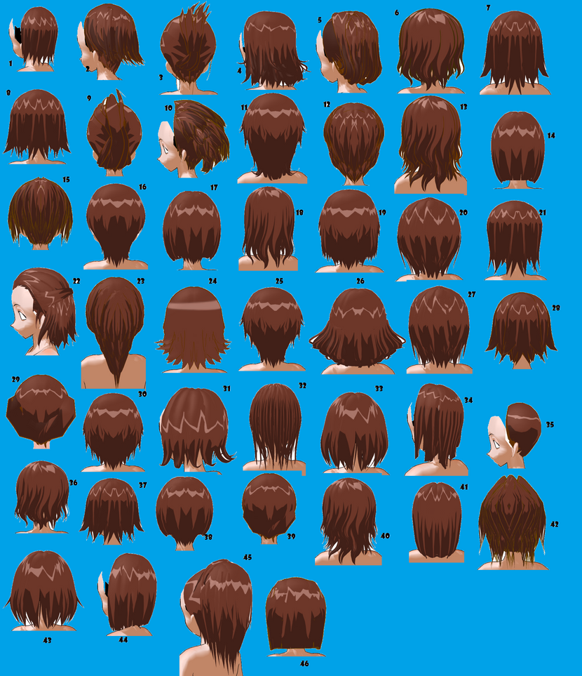 Short Hairstyles Male Or Female By Mmdxdespair On Deviantart