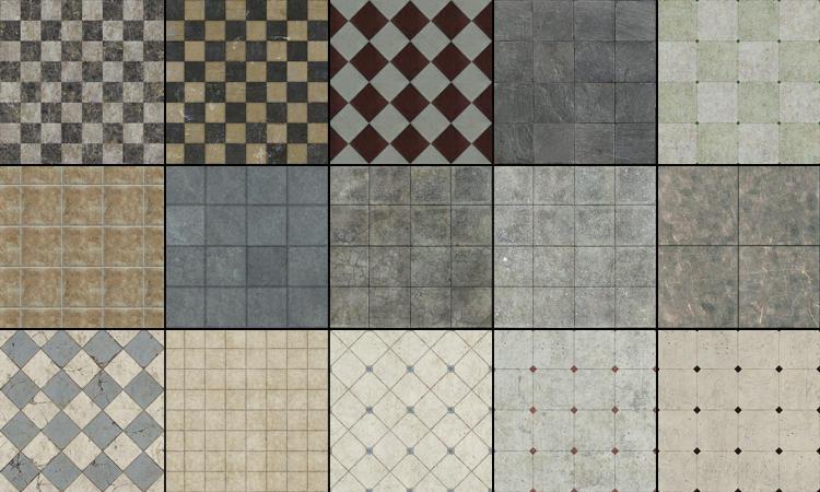 Tile Textures by Akinuri