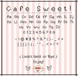 Cafe Sweet - Pixel Font