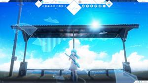 Ryuzu Theme - Rainmeter