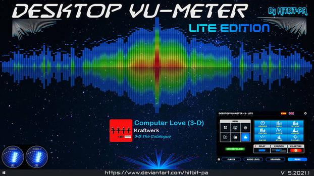 Desktop VU-Meter 5 - LITE edition