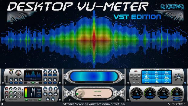 Desktop VU-Meter 5  - VST edition