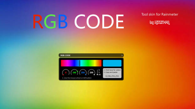 RGB Code 2.019 by HiTBiT-PA