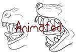 Werewolf Muzzle Formation (Animated)