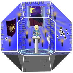 Teeny, Tiny Terrarium - Changeling: Corvin