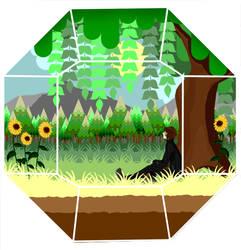 Teeny, Tiny Terrarium - Changeling: Ewan