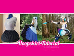 Hoopskirt for Cosplay tutorial
