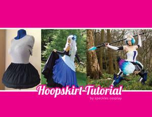 Hoopskirt for Cosplay tutorial