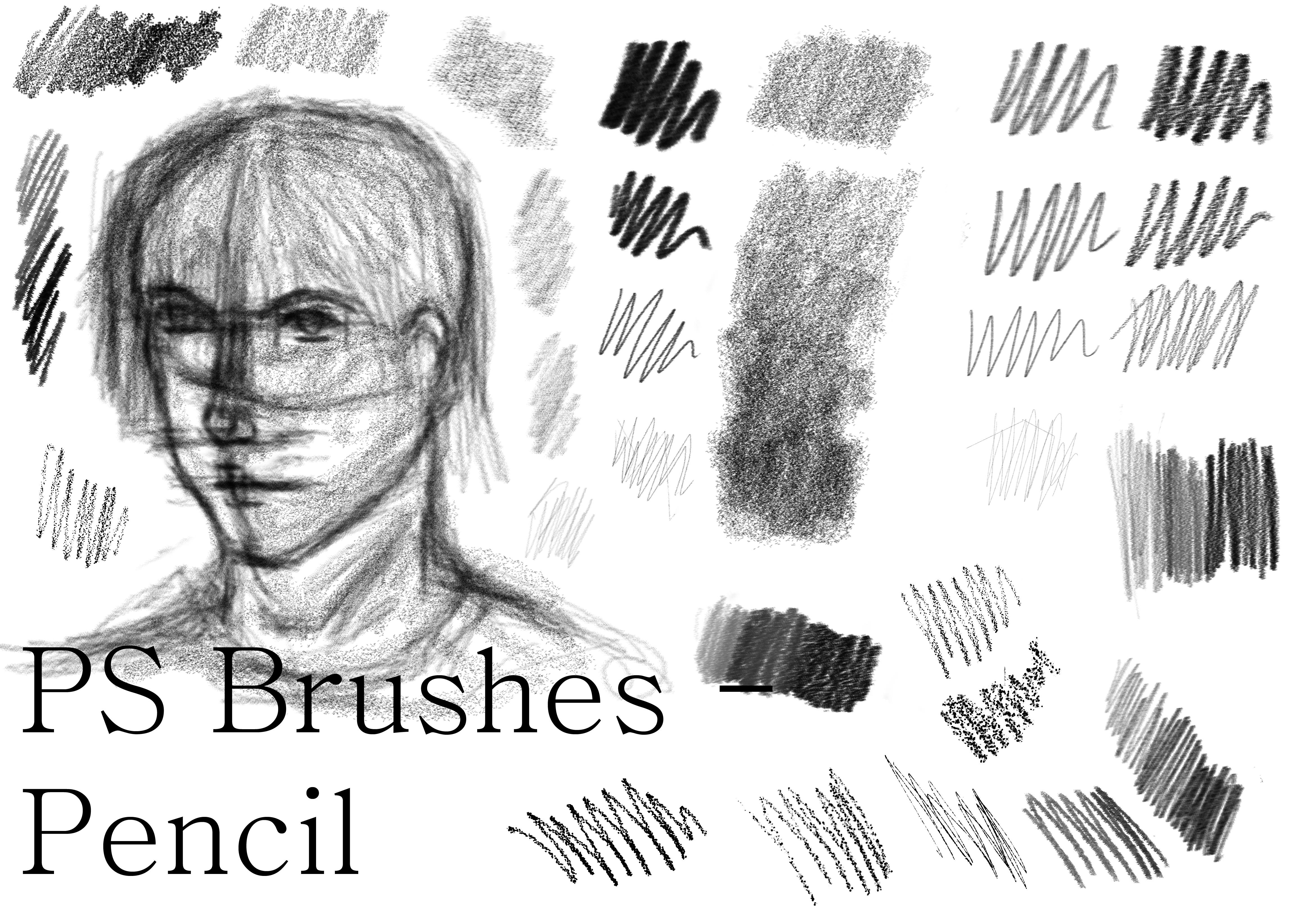 Nanda's Real Pencil Brushes for Photoshop by Soenanda on DeviantArt