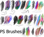 PS Brushes - Coloured Pencil