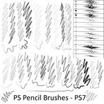 Pencil Brushes - PS7