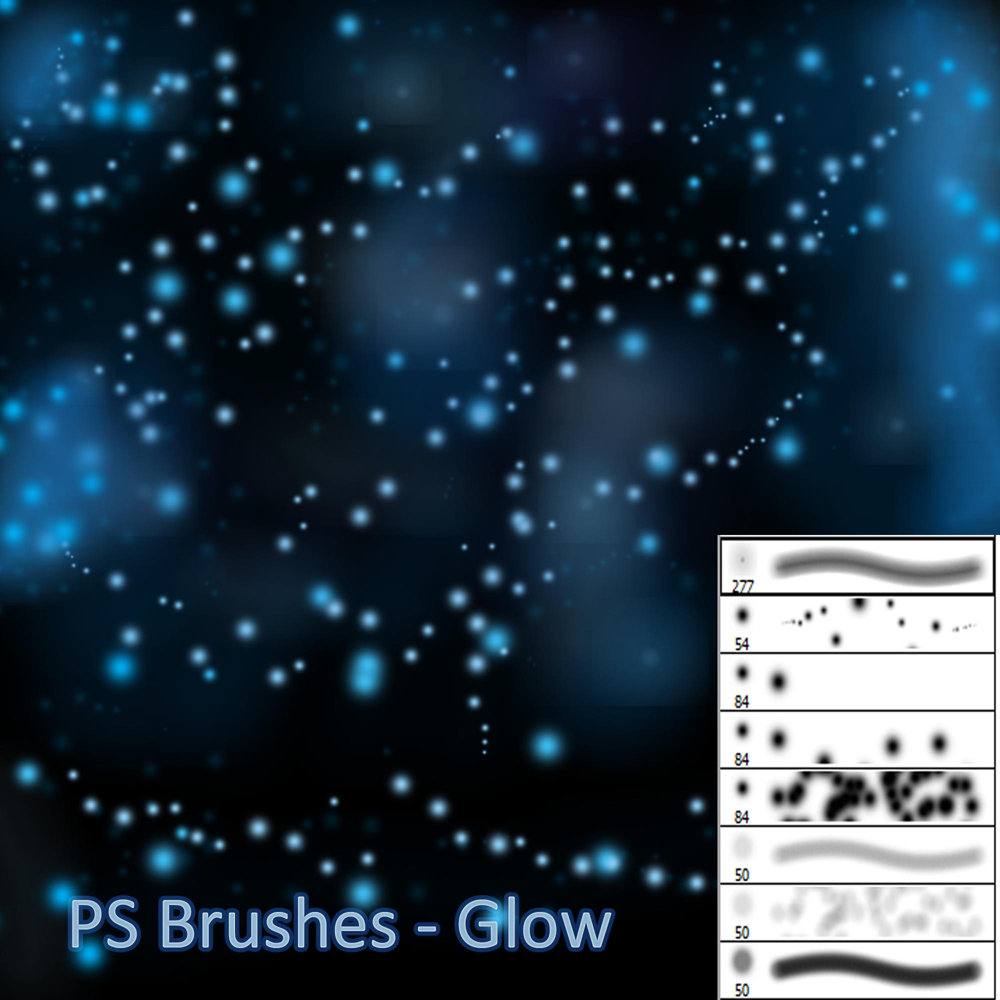 Glow PS Brushes by Dark-Zeblock
