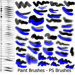 Paint Brushes - PS Brushes