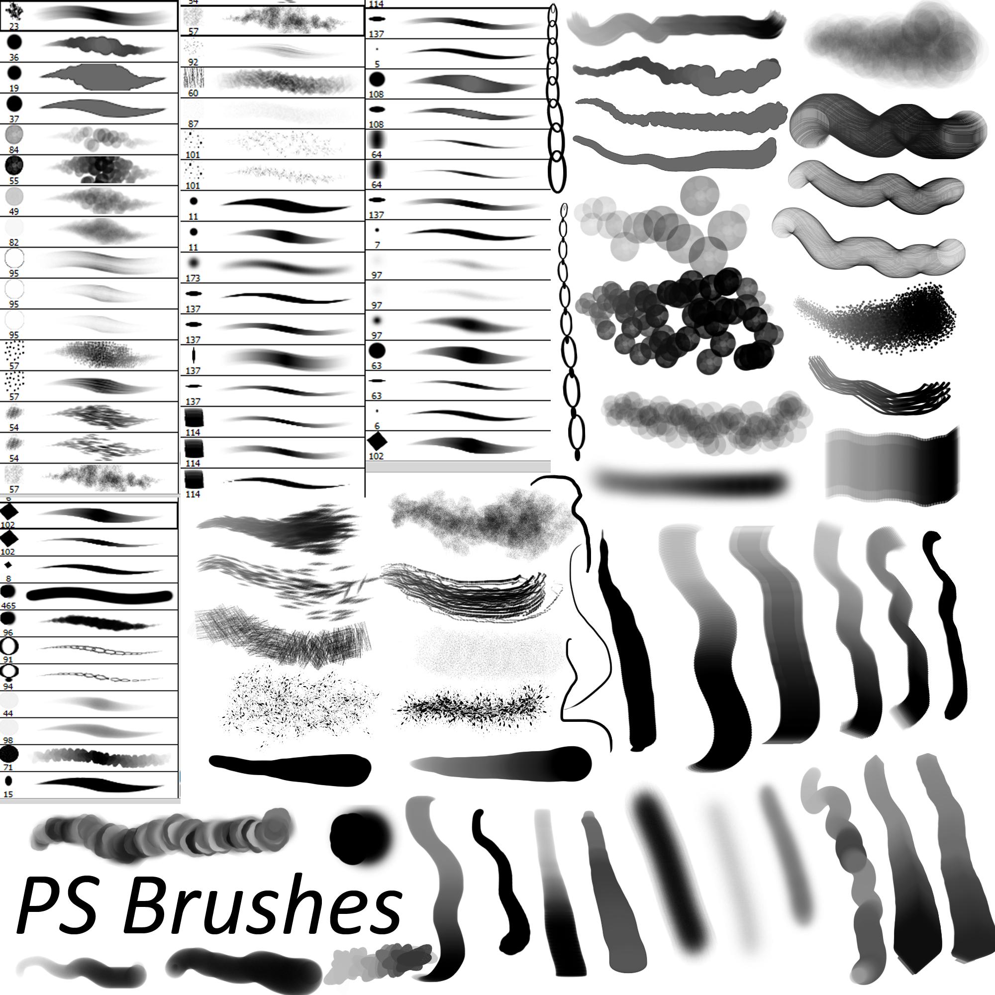 Line Art Brushes Photo : Ps brushes by dark zeblock on deviantart